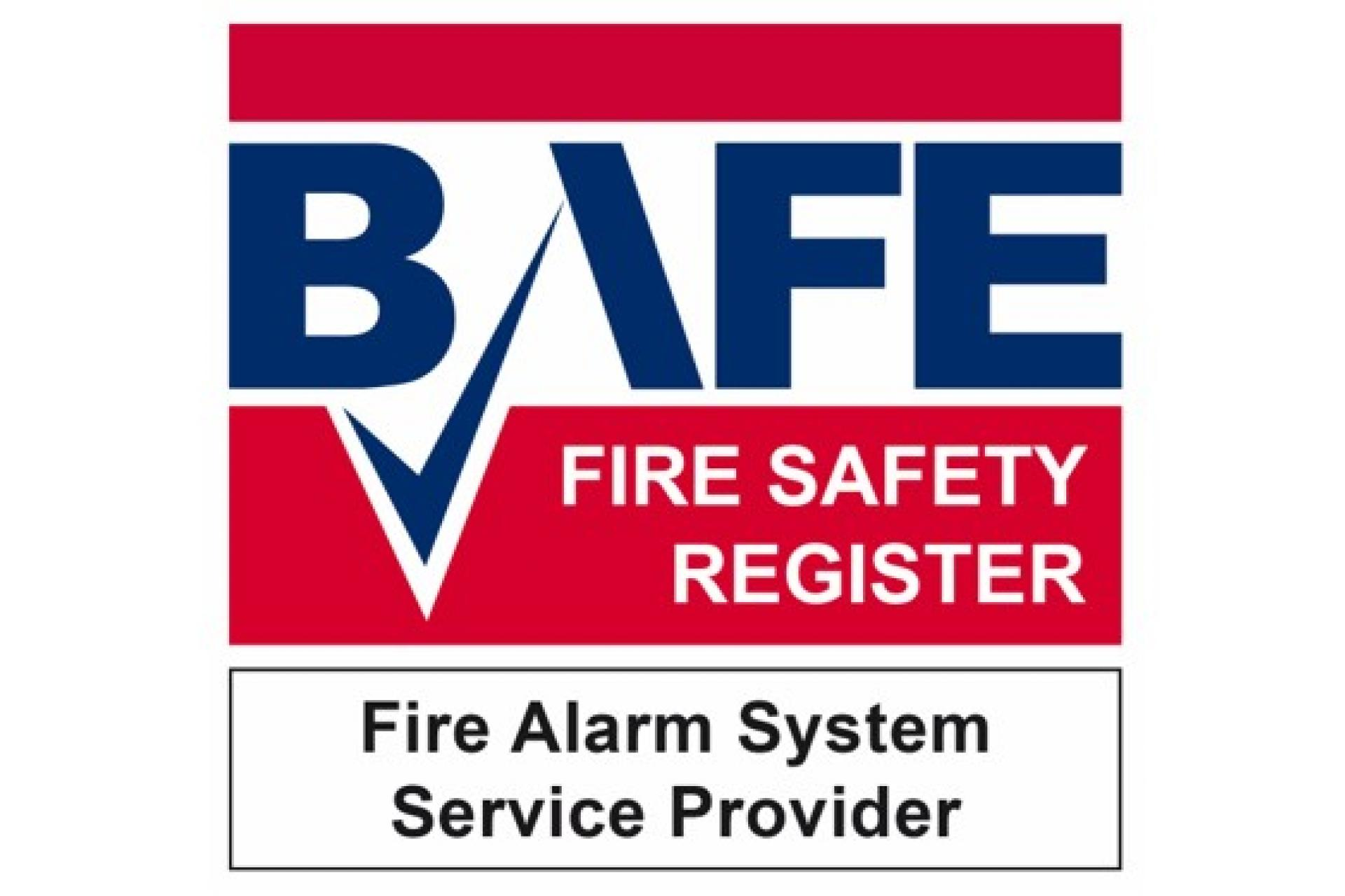 BAFE fire safety accreditation