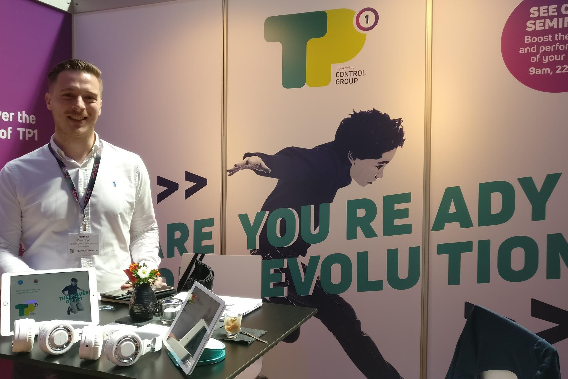 Matt at IATP Trampoline Park Conference in Amsterdam